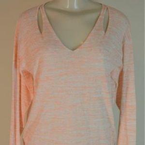 Lysse Cut Out Sweater Sherbert Orange S